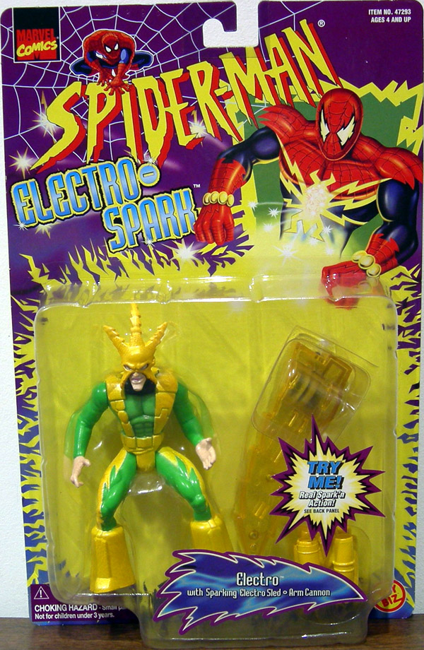 Electro (Electro-Spark, yellow highlights)