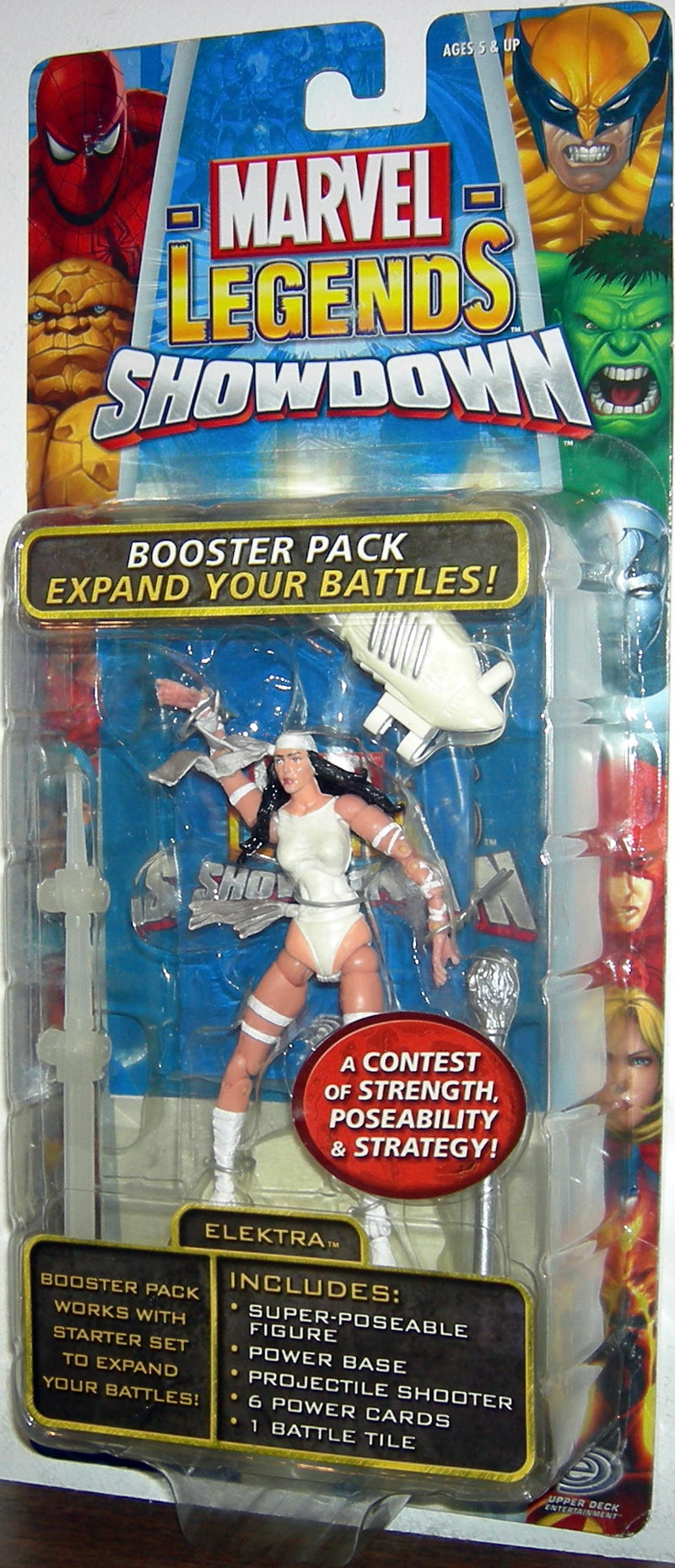 Elektra (Marvel Legends Showdown, white costume)