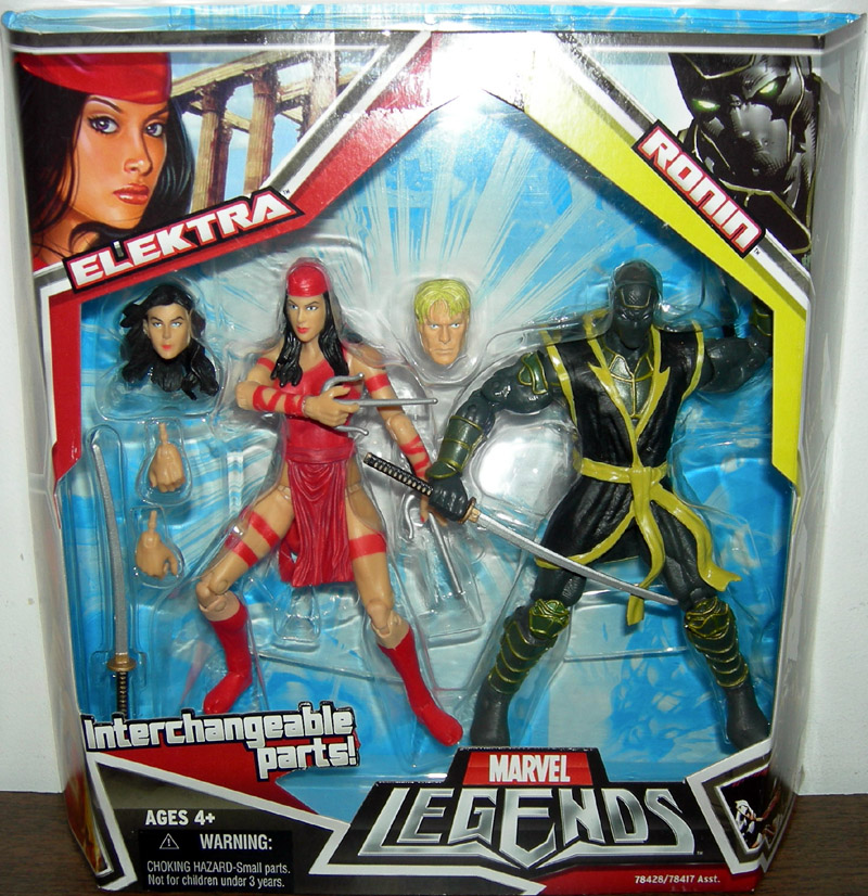 Elektra & Ronin (Marvel Legends)