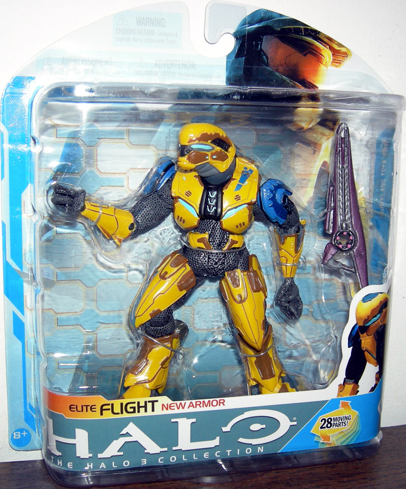 Elite Flight (Halo 3, yellow)