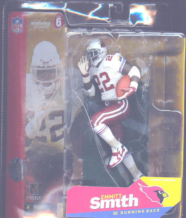 Emmitt Smith (series 6 Cardinals with red gloves)