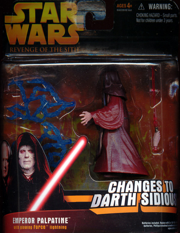 Emperor Palpatine (deluxe, Revenge of the Sith)