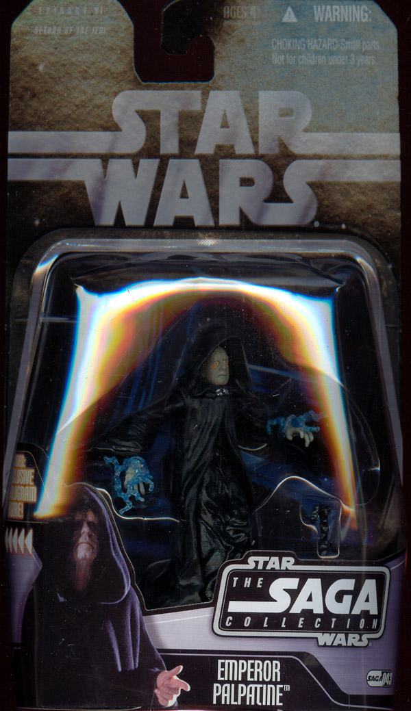 Emperor Palpatine (The Saga Collection, #043)