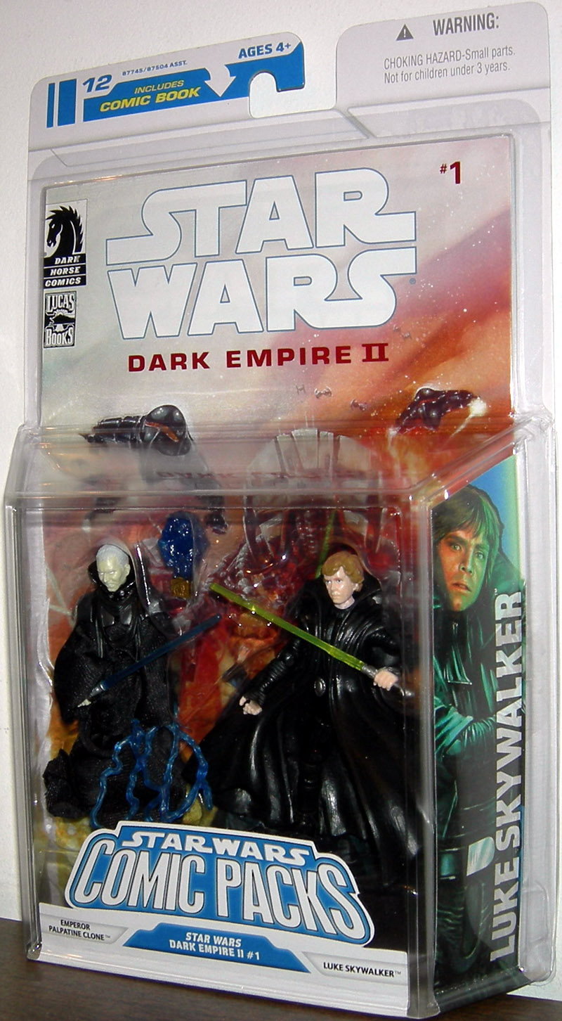 Emperor Palpatine Clone and Luke Skywalker (Comic Pack #12)