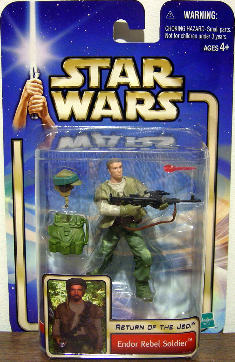 Endor Rebel Soldier (no beard)