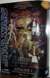 Star Wars Blu-Ray Release Commemorative Figure The Phantom Menace Set
