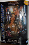 Star Wars Blu-Ray Release Episode II Attack of The Clones Figure Set