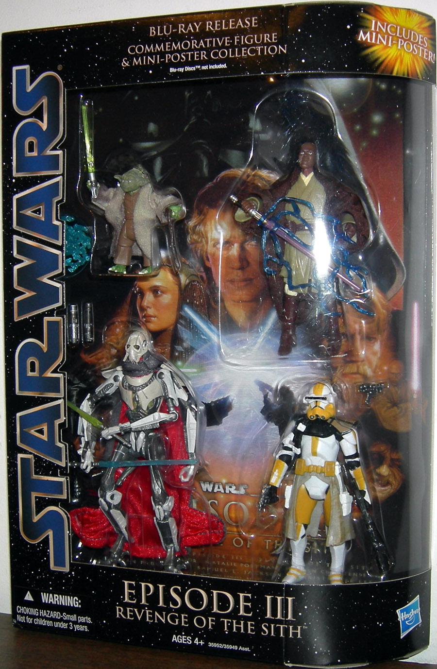 Star Wars Blu-Ray Release Commemorative Figure Collection Episode III