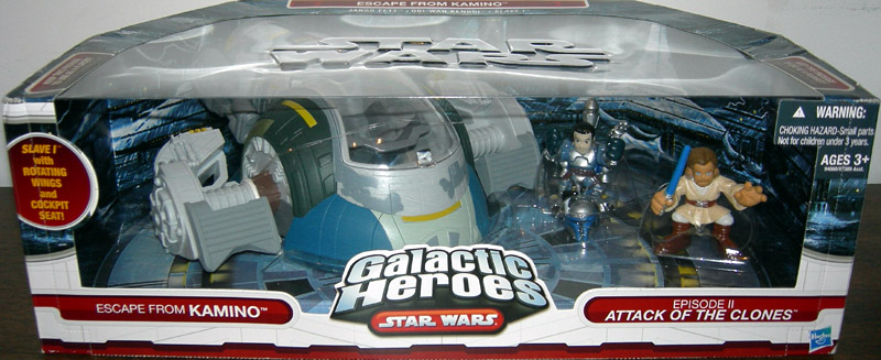 Escape From Kamino 3-Pack (Galactic Heroes)