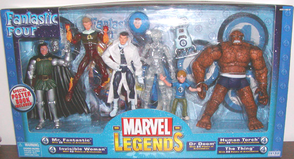 Fantastic Four 7-Pack (Marvel Legends variant)