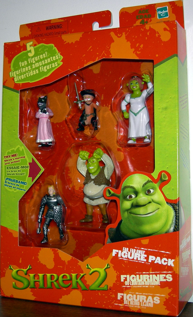 Far Far Away Figure Pack (with Big Bad Wolf)