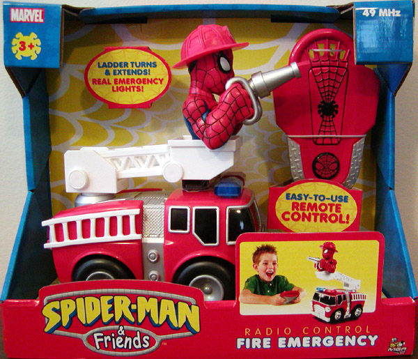 Radio Control Fire Emergency