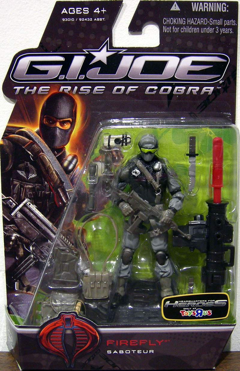 Firefly (The Rise of Cobra, Toys R Us exclusive)