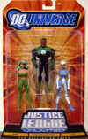 Fire, Green Lantern & Ice 3-Pack (DC Universe)