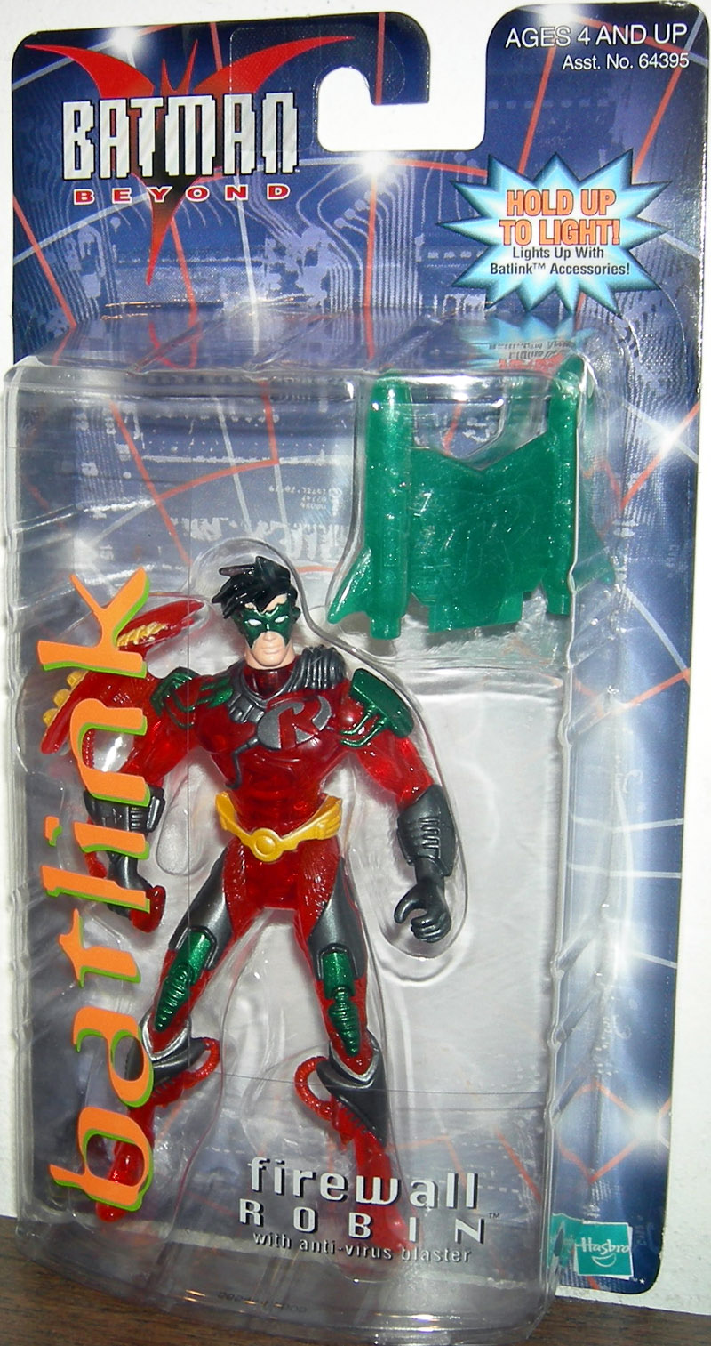 Firewall Robin (Batman Beyond, Batlink)