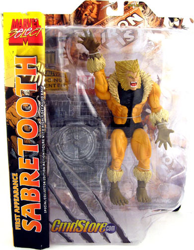 First Appearance Sabretooth (Marvel Select)