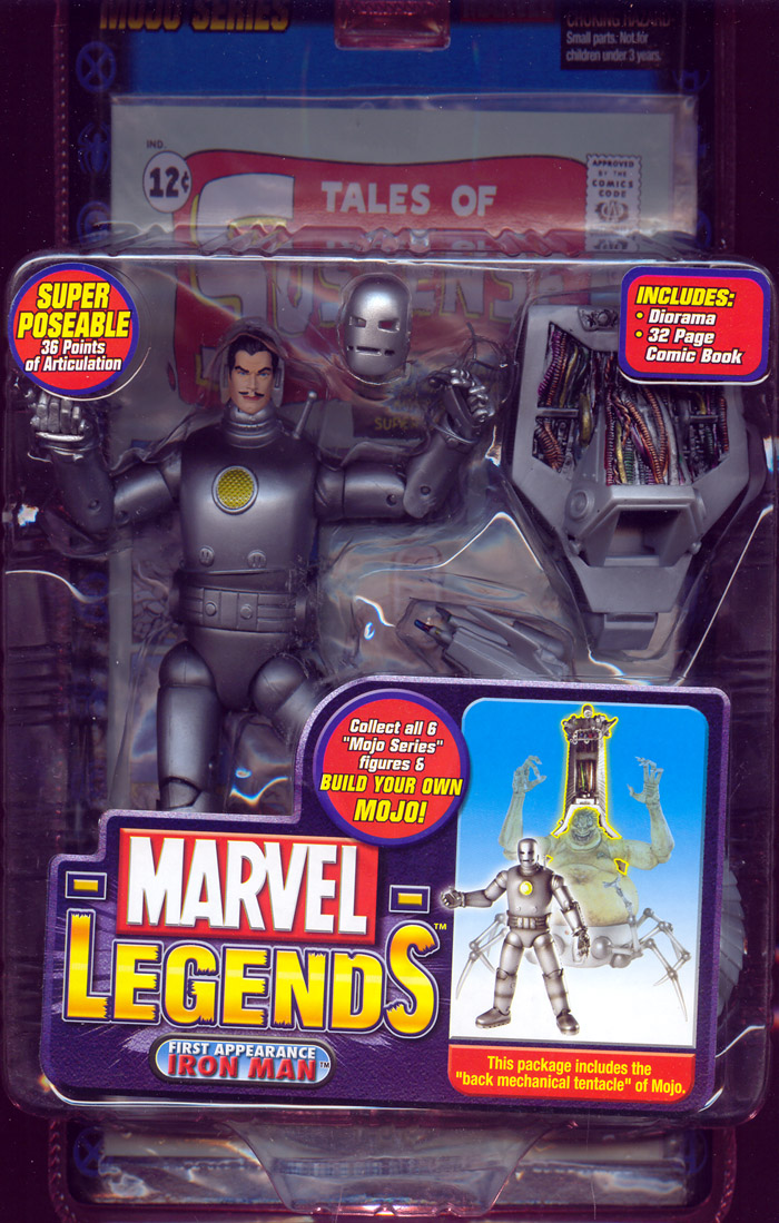 First Appearance Iron Man (Marvel Legends)