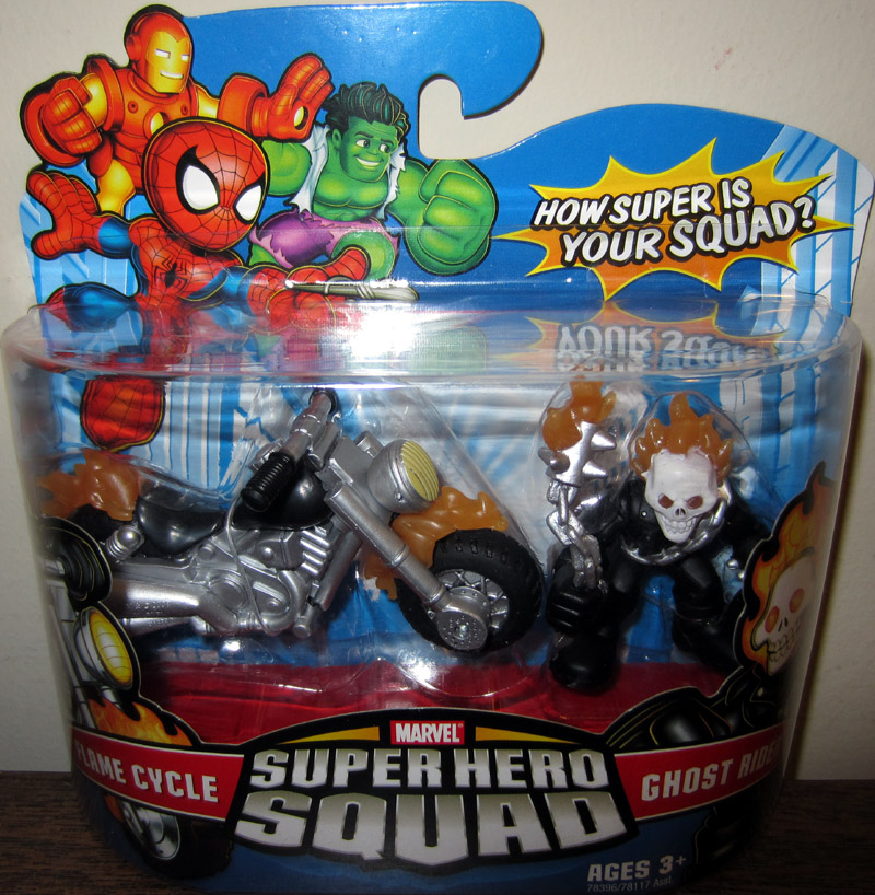 Flame Cycle & Ghost Rider (Super Hero Squad)