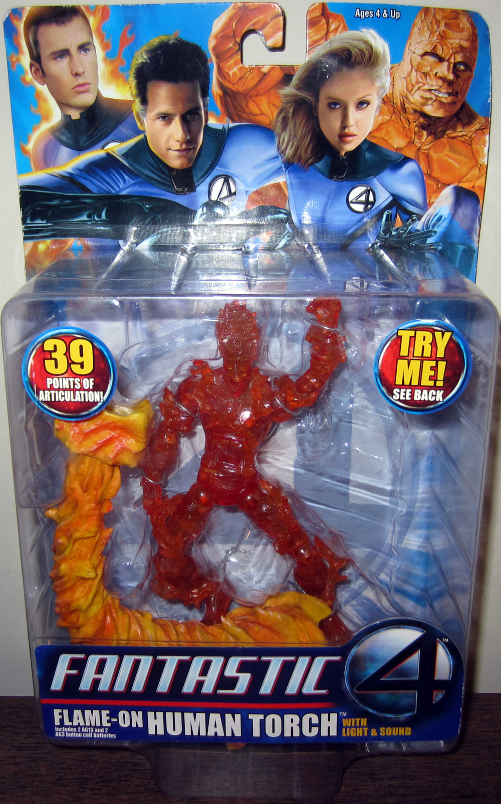 Flame-On Human Torch (Fantastic 4 Movie)