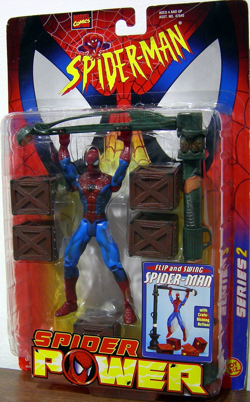 Flip and Swing Spider-Man (Spider Power)