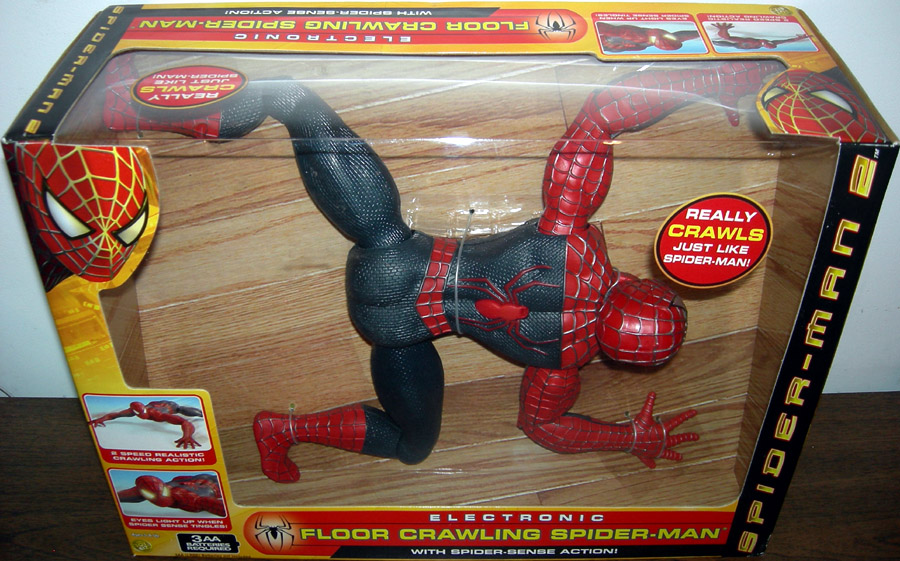 Electronic Floor Crawling Spider-Man 2