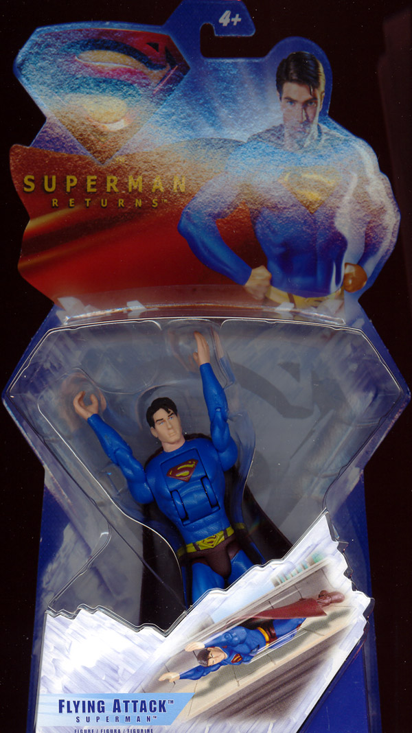 Flying Attack Superman