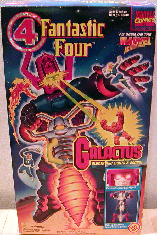 Galactus Action Figure 14 Inches Tall Fantastic Four Toy Biz