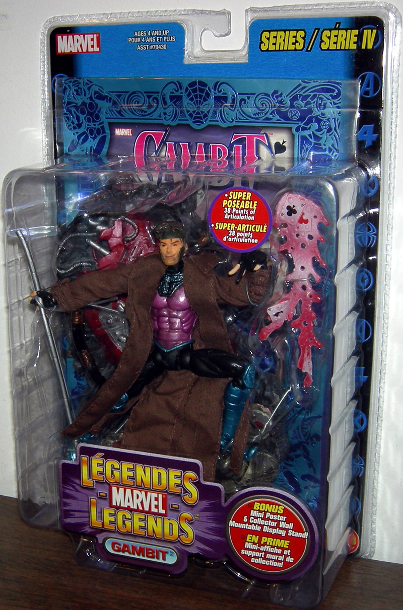 Gambit (Marvel Legends with mini foil poster, Canadian Exclusive)