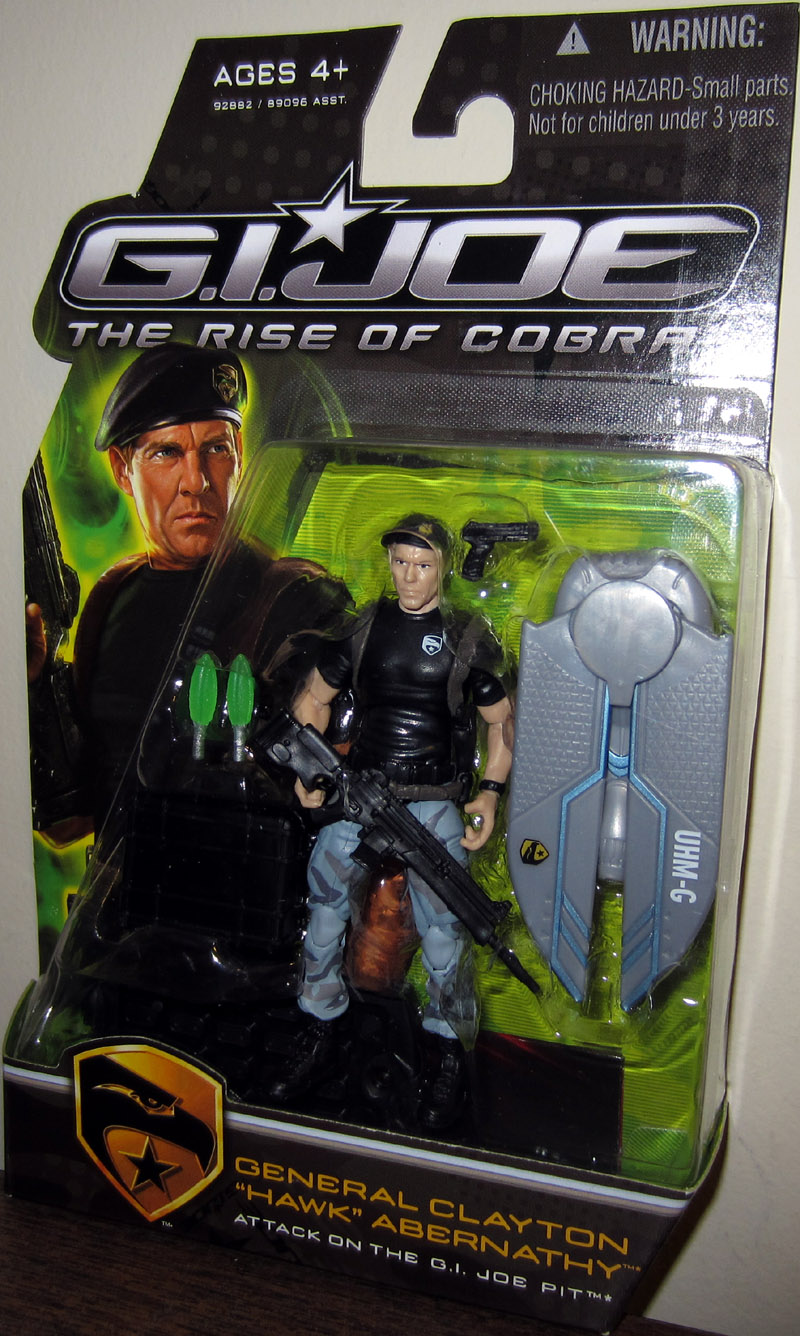 General Clayton Hawk Abernathy Attack on the GI Joe Pit, Rise of Cobra
