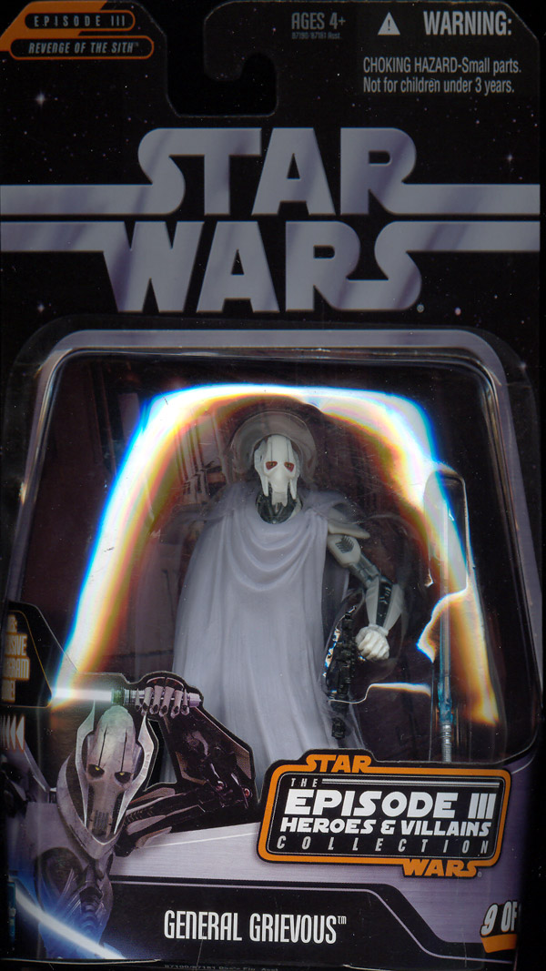 General Grievous Episode III Heroes Villains Collection 9 12
