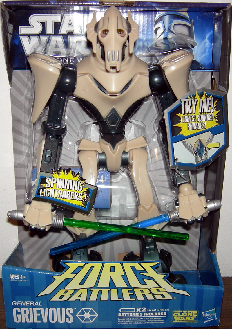 General Grievous (Force Battlers, The Clone Wars)