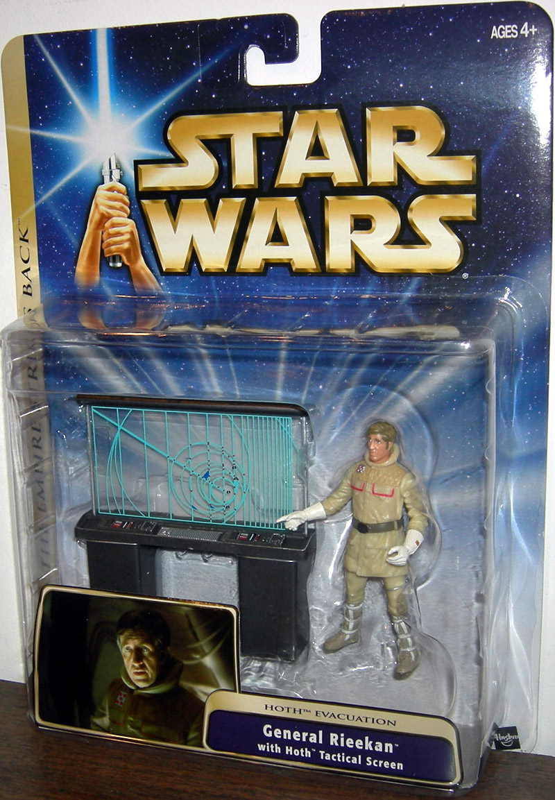 General Rieekan (with Hoth Tactical Screen)