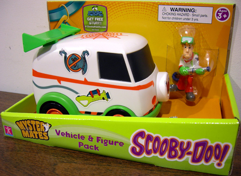 Ghosthunter Van & Shaggy Set (Mystery Mates)