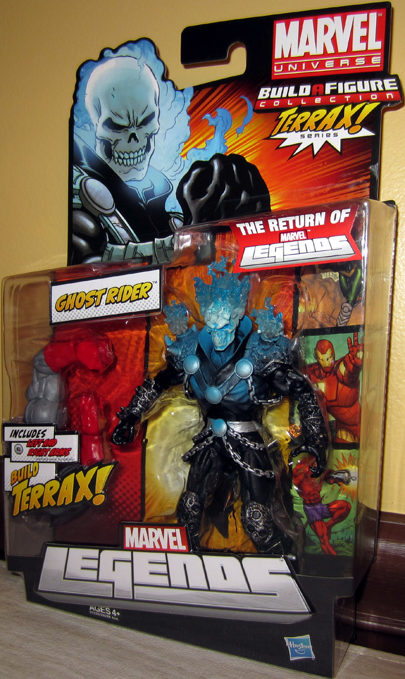 Ghost Rider (Marvel Legends, Terrax Series)