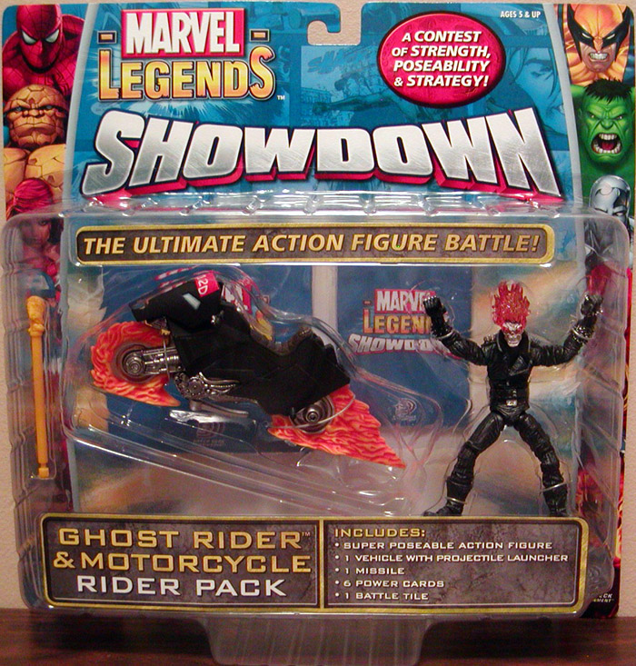 Ghost Rider & Motorcycle (Marvel Legends Showdown)
