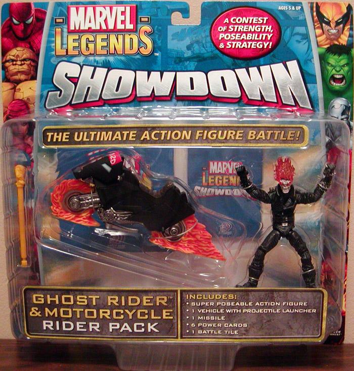 Ghost Rider Motorcycle Marvel Legends Showdown