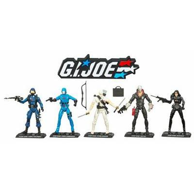 GI JOE 25th Anniversary Cobra 5-Pack