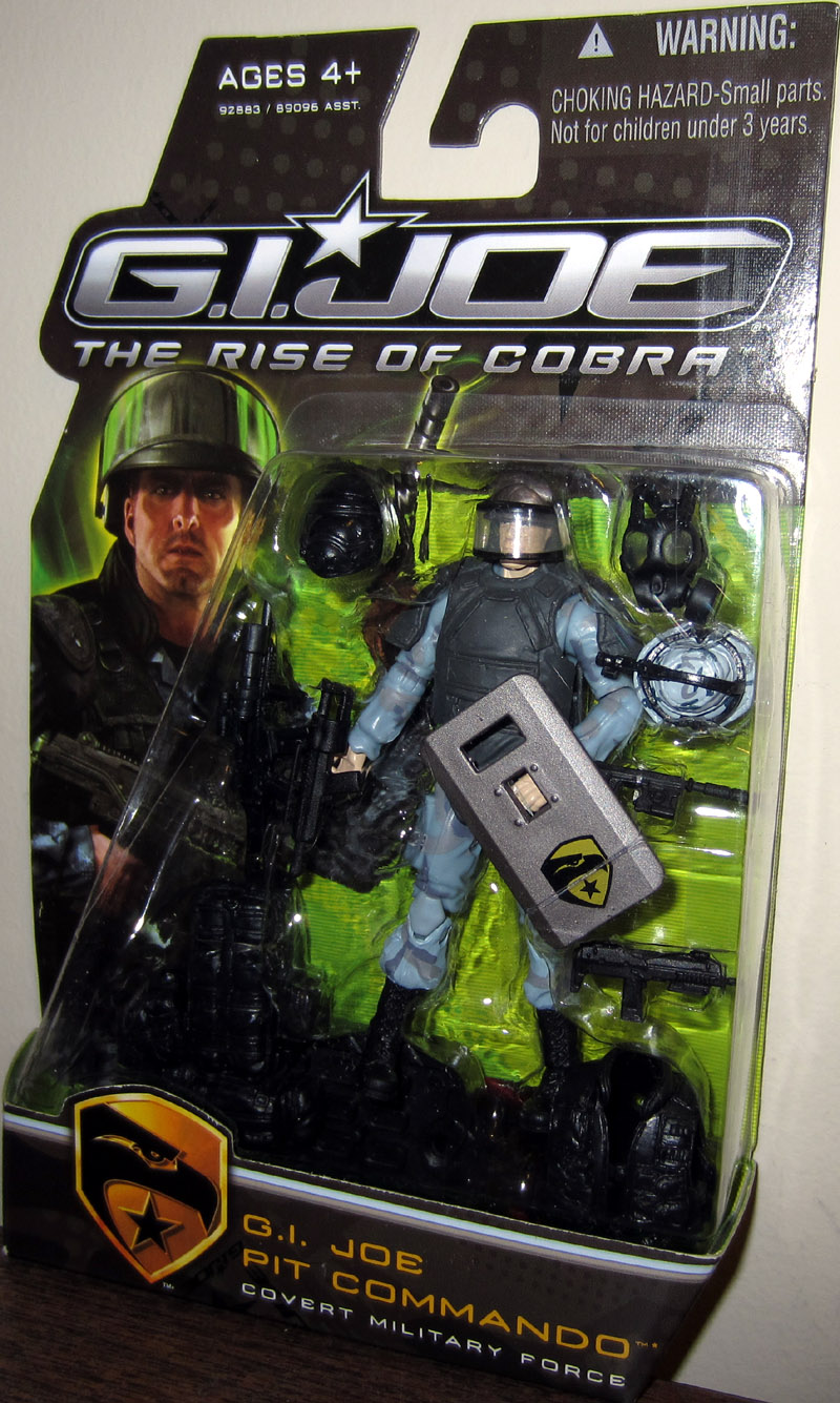 G.I. Joe Pit Commando - Covert Military Force (The Rise of Cobra)