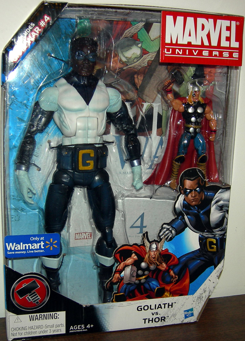 Goliath vs. Thor (Marvel Universe, Walmart Exclusive)