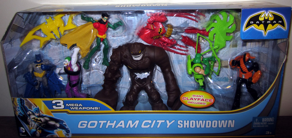 Gotham City Showdown