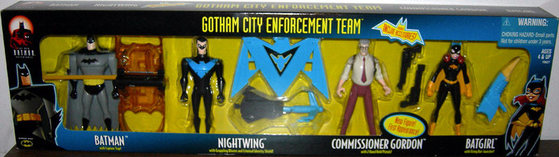 Gotham City Enforcement Team 4-Pack (The New Batman Adventures)