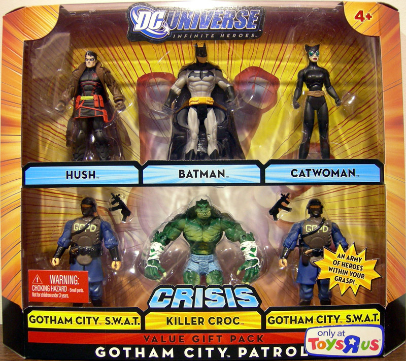 Gotham City Patrol 6-Pack