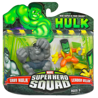 Gray Hulk & Leader Villain (Super Hero Squad)