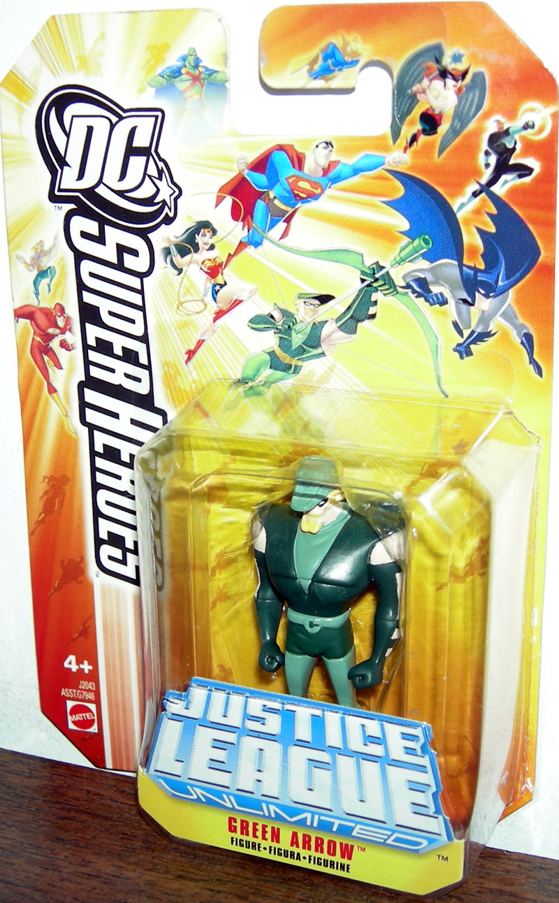 Green Arrow (DC SuperHeroes die-cast)