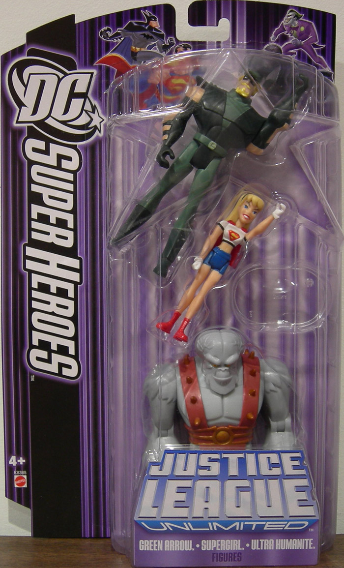 Green Arrow, Supergirl & Ultra Humanite 3-Pack