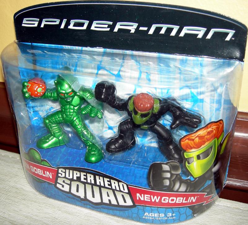 Marvel Super Hero Squad Green Goblin and Spider-Man