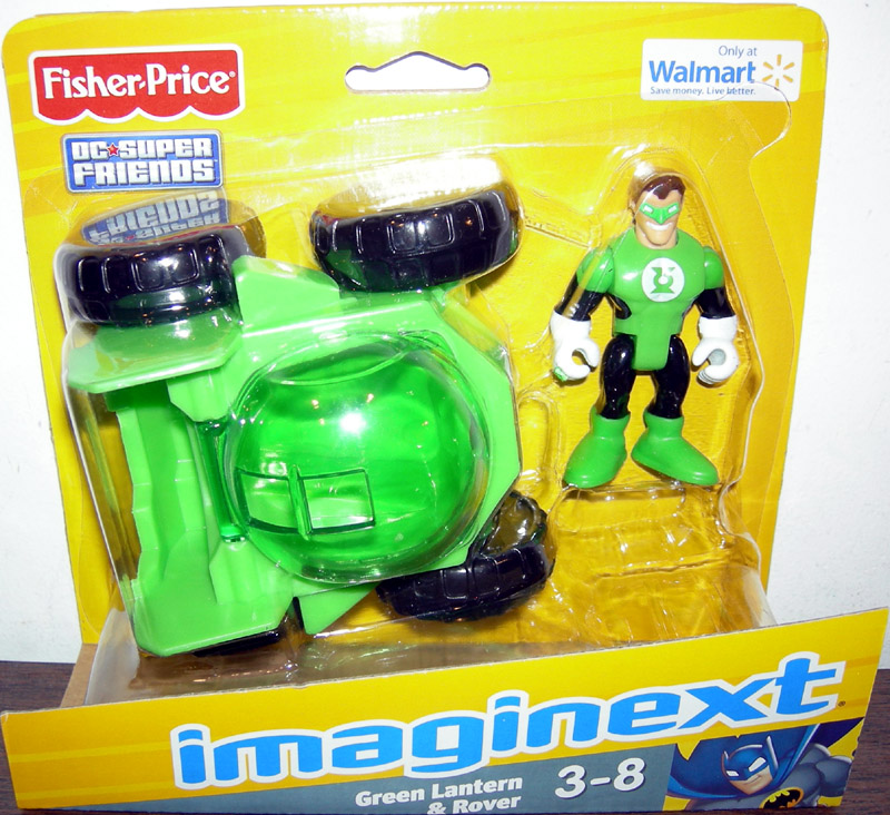 Green Lantern Action Figure and Rover Imaginext Walmart ...