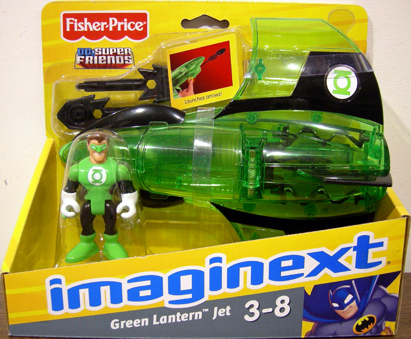 Green Lantern Jet (Imaginext)