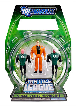 Green Lantern Origins 3-Pack (Justice League Unlimited)