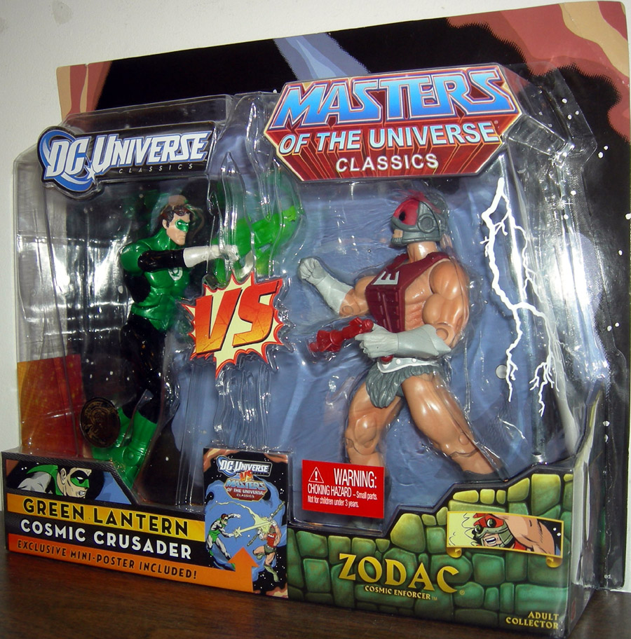 Green Lantern vs. Zodac (Toys R Us Exclusive)